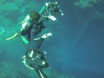 Lagoa Misteriosa: sensação de levitar no espaço