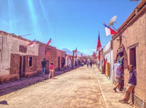 Uma tarde pacata no inóspito Deserto.