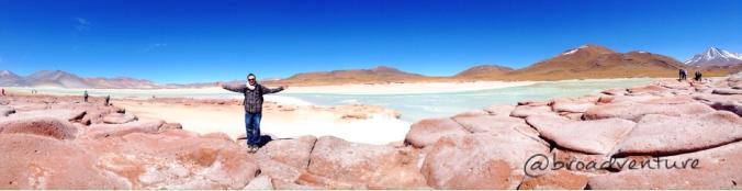 Muito frio e muita beleza - Piedras Rojas
