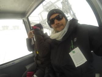 Dentro Cabine Vale Nevado